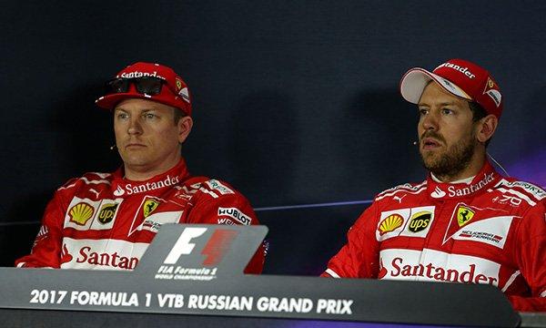 """Vettel à un journaliste italien : """"Vous devriez avoir honte !"""""""