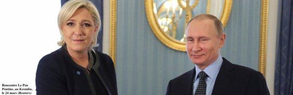 Un proche de Poutine derrière l'argent du FN