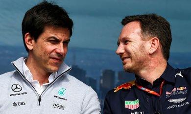Horner pas en faveur d'un partenariat Mercedes-Honda