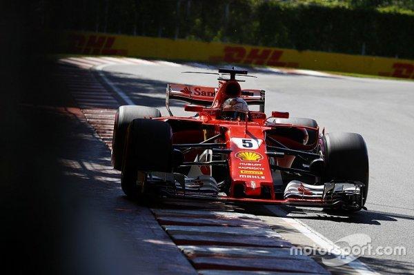 """Vettel : """"J'ai sûrement attaqué un peu trop fort"""""""