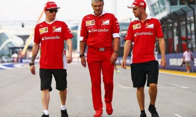 Ferrari : pas encore de contrat pour 2018