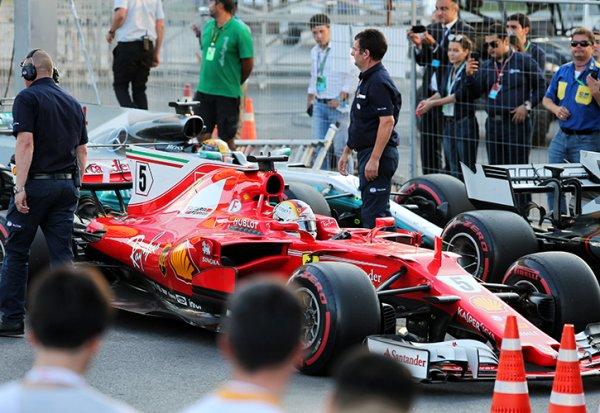 Vettel proche d'un Grand Prix de suspension !
