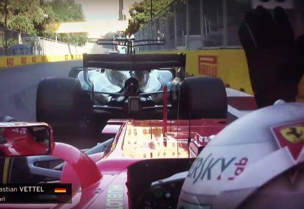"""Vettel : """"Je lui ai montré que je n'étais pas content"""""""