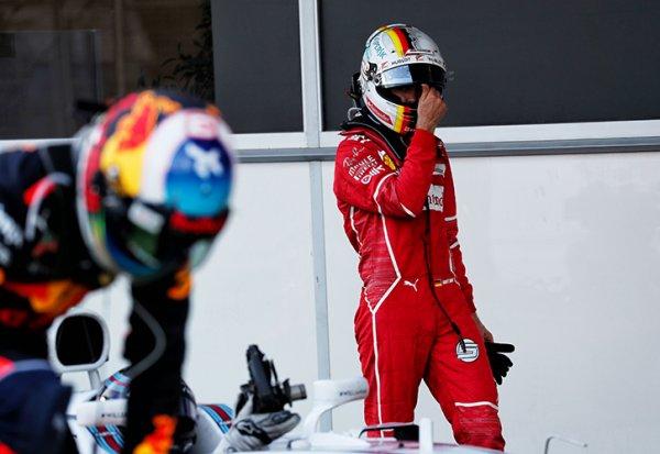 """Vettel : """"Je n'ai pas terni ma réputation"""""""