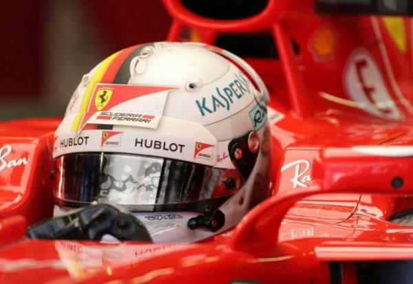 Vettel fan d'Enzo Ferrari