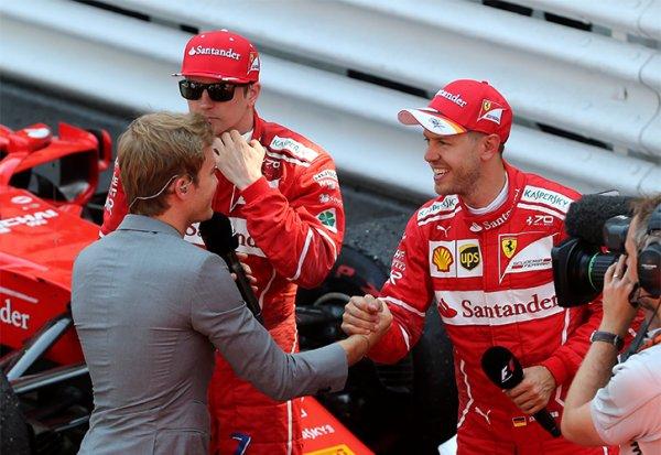 Coup de roue de Vettel : Rosberg a pris position