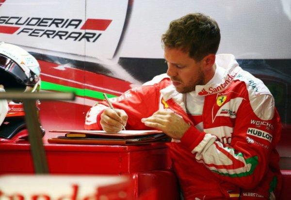 Vettel présente ses excuses dans une lettre