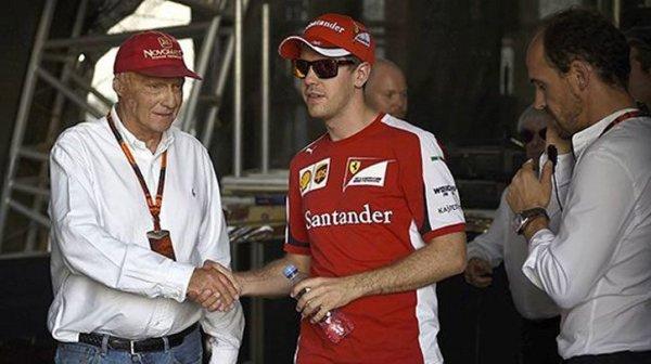 """Lauda : """"Vettel avait aggravé son cas..."""""""
