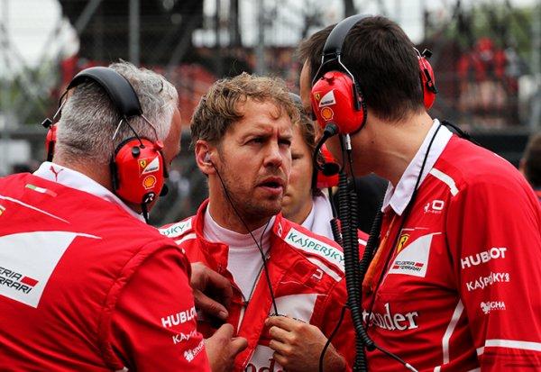 "Vettel : ""Totalement inattendu !"""