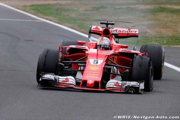 F1 - Ferrari : Pirelli commence à s'expliquer, Vettel ne veut accuser personne