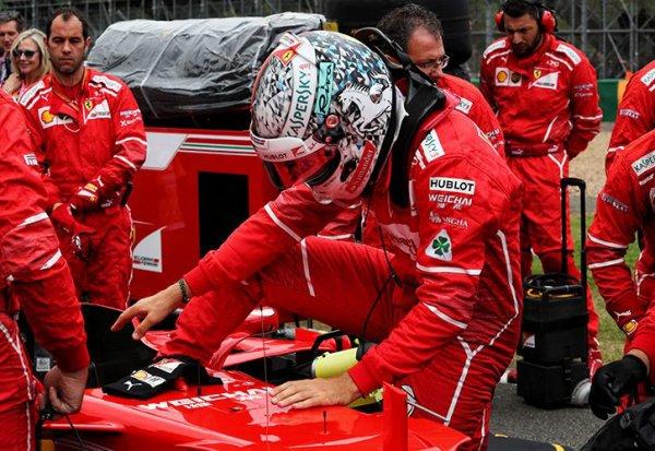 """Vettel """"Nous sommes toujours dans le coup"""""""
