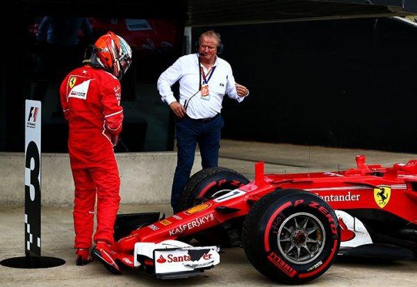Pirelli révèle l'origine de la crevaison de Räikkönen