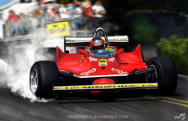 Poulidor de la Formule 1 : Gilles Villeneuve