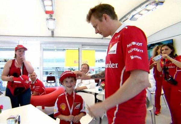 Le geste de Räikkönen nominé aux Laureus Awards