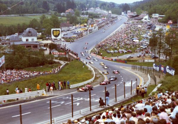 Cinquantième Grand Prix à Spa : les années 70