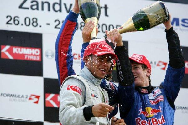 Vettel respecte Hamilton... depuis le karting