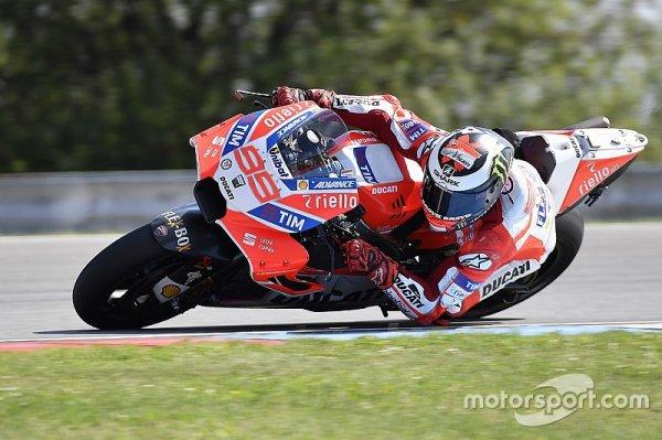 """Lorenzo : """"C'est régulier, mais pas assez rapide !"""""""