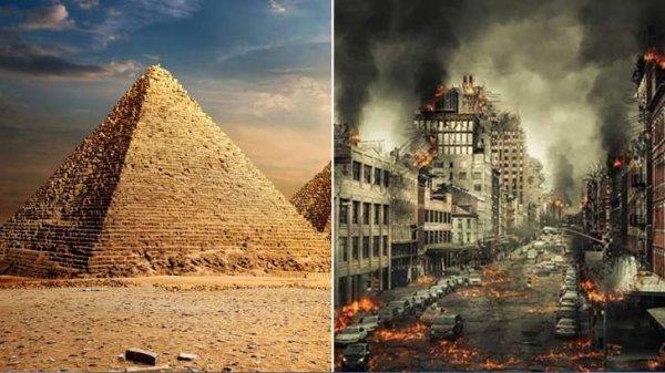 """la pyramide de Gizeh indique """"la date exacte de la fin du monde"""
