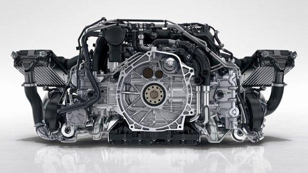 Porsche travaille sur un moteur à haut rendement