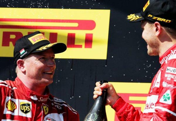 Räikkönen reconduit par Ferrari pour 2018