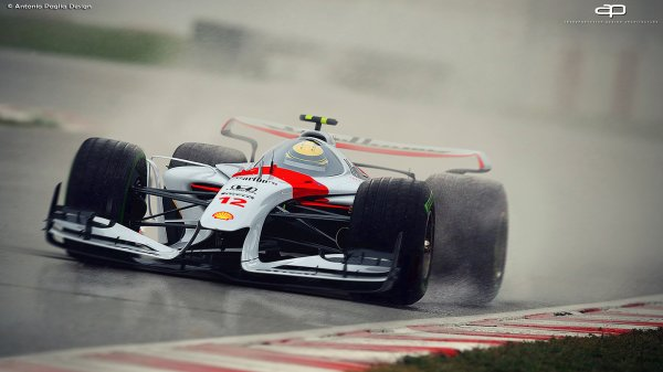 Galerie : la F1 du futur ?