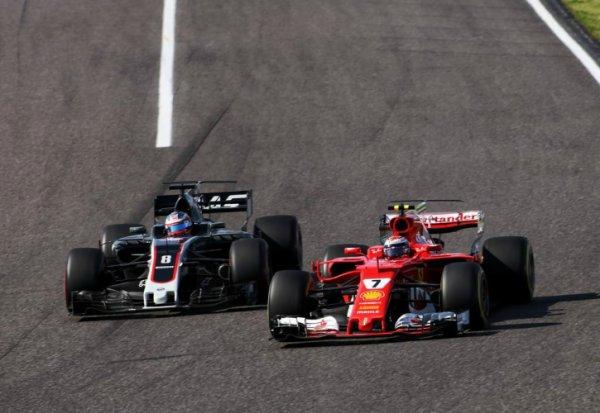 Räikkönen s'est ennuyé ce dimanche