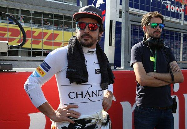 Alonso répond aux attaques de Rosberg