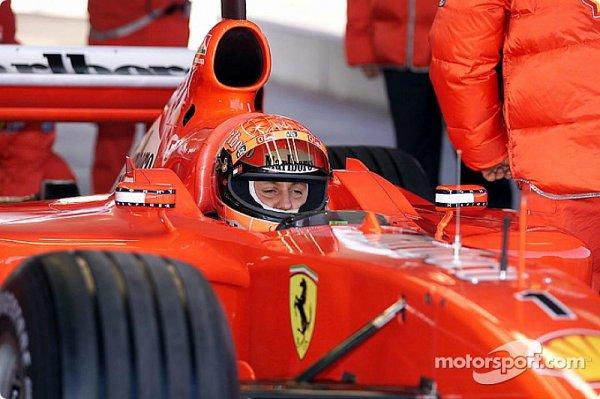 La remise en question permanente de Schumacher chez Ferrari