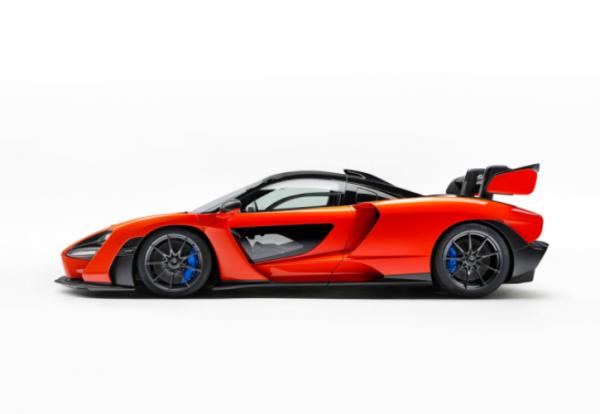 "Une hypercar McLaren nommée ""Senna"""