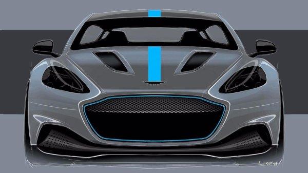 Aston Martin RapidE - Plus performante que la Tesla Model S ?