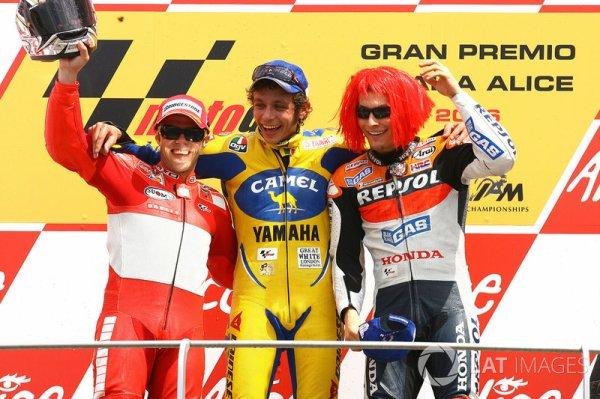 Les stats étourdissantes de Valentino Rossi !