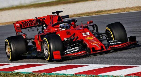 Essais de Barcelone – Jour 1 : Vettel le plus rapide
