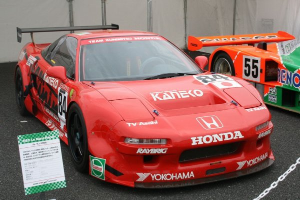 La NSX gagnante de l'épreuve de 1995