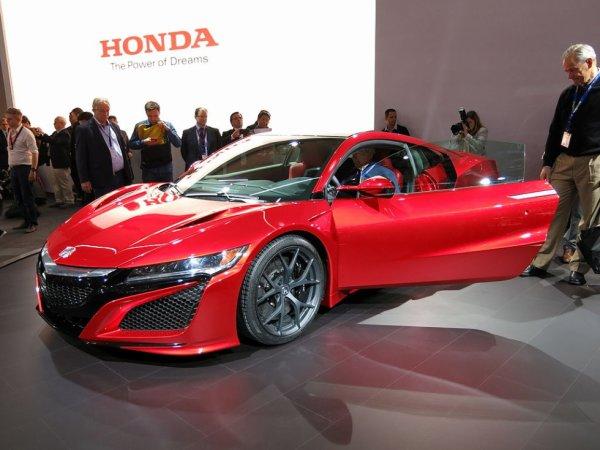 Honda NSX II Seconde génération (2015-...)