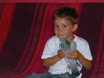 Mon neveu Maxence