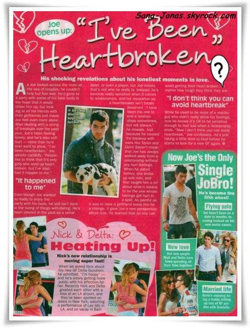 ARTICLE LIE : News en Vrac : Nombreuses interviews de Joe et Kevin & Infos :)