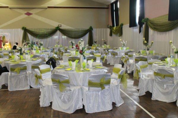 Decoration vert anis et blanc blog de rachida negafa 90 - Decoration de table mariage vert et blanc ...
