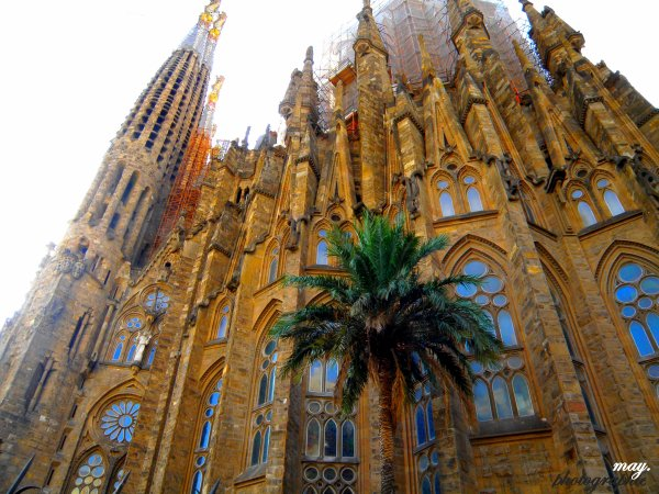 La sagrada familia de barcelona ... 2010