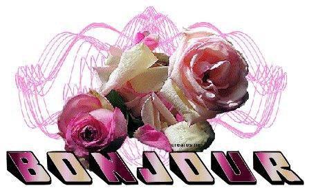 bonjour et bonne journée bisoussssss