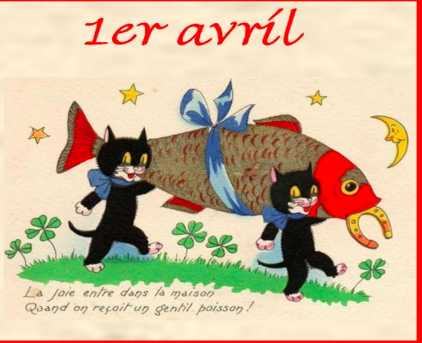 BON POISSON D'AVRIL