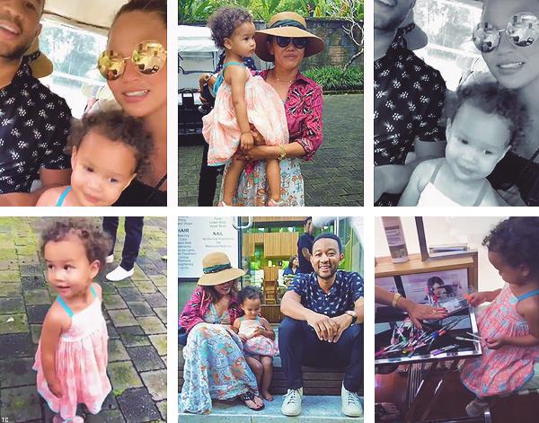 •••  CANDIDS C. nous a fait partager le 03/08 une séance de sport puis un repas + dîner avec J., le 04 août 2018          Le 05 août (?) C., sa mère, ses enfants et John été de sortie dans un spa. Le soir Bali a subis d'importants tremblements de terre.