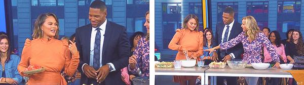 •••  APPEARANCES Chrissy a été photographié quittant les studio du Good Morning American, le 19/09/2018           J'ai un énorme coup de coeur pour la tenue de Chrissy, elle est tellement belle ! Sa robe est belle et ses talons encore plus !