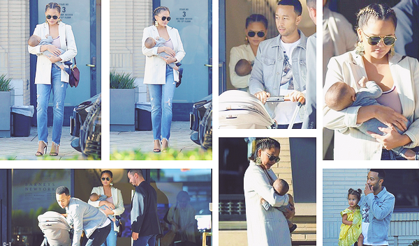 •••  CANDIDS La petite famille a été vu partageant une séance shopping dans Beverly Hills, le 25 septembre 2018           Comme l'a annoncé John sur insta Chrissy et Miles sont de retour à LA. Très gros coup de coeur pour ce candids. Chrissy est superbe !