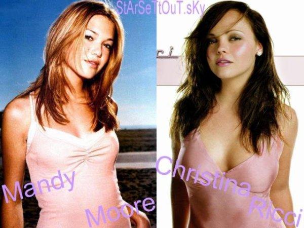 Mandy Moore  VS.  Christina Ricci