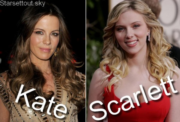 Kate Beckinsale VS Scarlett Johansson