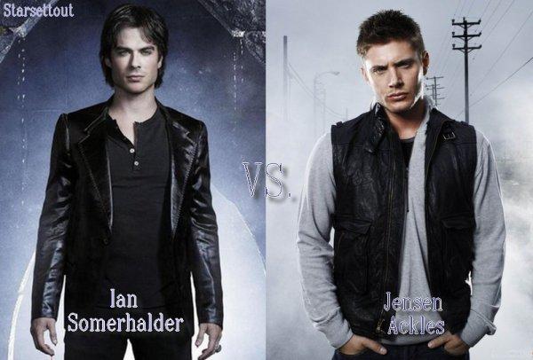 Ian Somerhalder VS. Jensen Ackles