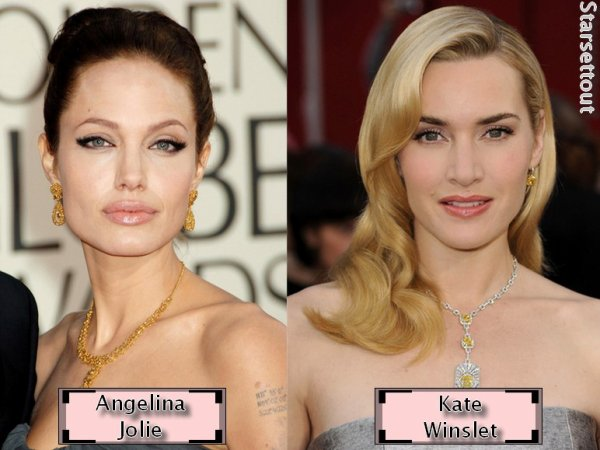 Angelina Jolie VS. Kate Winslet