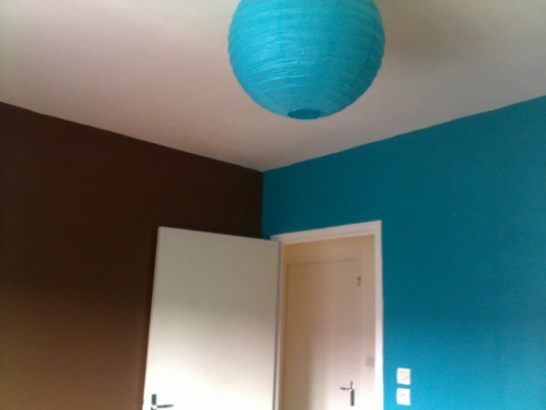 News couleur de ma chambre choco bleu turquoise moi miss for Chambre chocolat turquoise