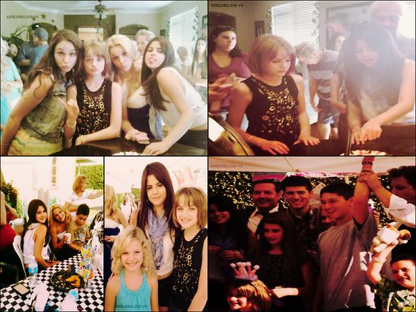 Candid : Selena était présente à l'anniversaire de Joey King. Comment trouves-tu Selena ?