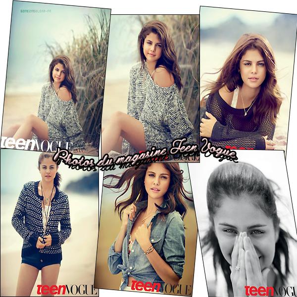 Scans : Selena apparait dans le prochain  TEEN VOGUE en septembre. Que penses-tu des photos ?